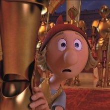 I 7 Nani: Bobo il curiosone in una scena del film d'animazione