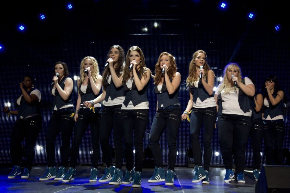 Pitch Perfect 2: una scena di gruppo tratta dal film