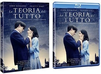 Le cover homevideo di La teoria del tutto