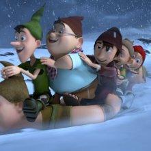 I 7 Nani: una divertente scena del film d'animazione