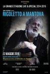 Locandina di Rigoletto a Mantova