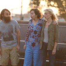 The Last Man on Earth: Will Forte, Kristen Schaal e January Jones in uno scatto tratto dalla puntata Sweet Melissa