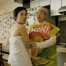 Rubbers: Yeo Yann Yann con Lee Chau Min in una scena