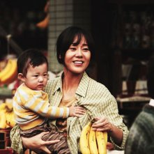 Ode to My Father: Yunjin Kim in una scena del film