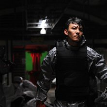 Helios: Shawn Yue in una scena del film