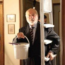 Basta poco: Marco Messeri sul set del film