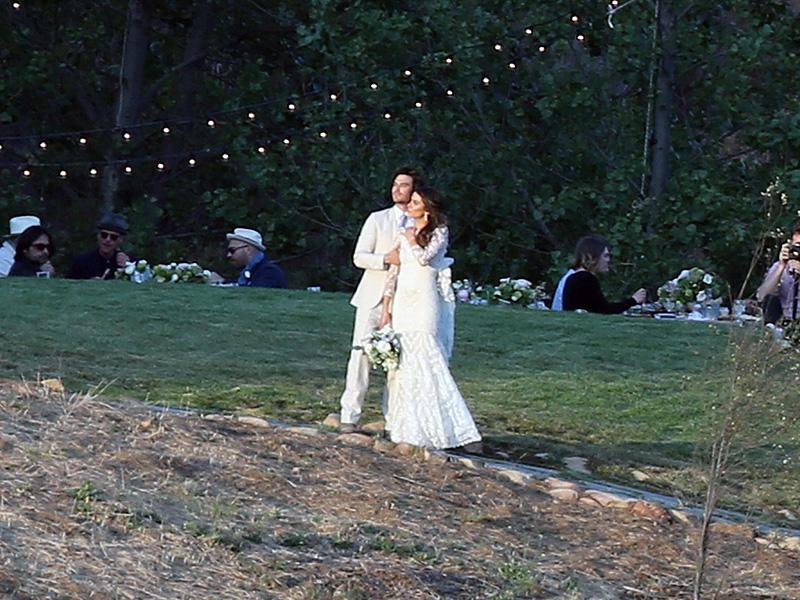Ian Somerhalder e Nikki Reed: una foto delle nozze