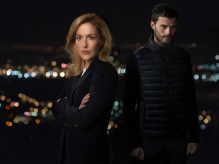 The Fall: i due protagonisti Gillian Anderson e Jamie Dornan