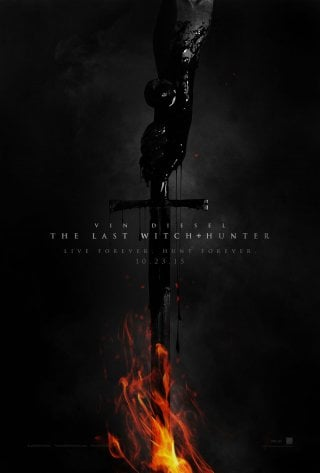 The Last Witch Hunter: il poster del film diretto da Breck Eisner