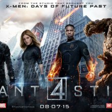 Fantastic 4 - I Fantastici Quattro: un banner del film
