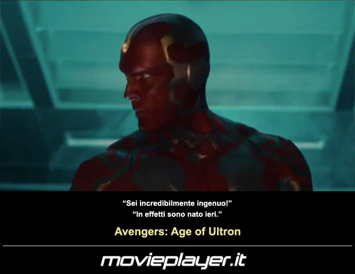 Avengers: Age of Ultron - una frase dal film