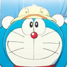 Doraemon Il Film - Le Avventure di Nobita e dei Cinque Esploratori: Doraemon in un primo piano tratto dal film