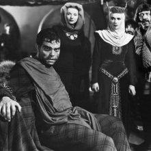 Una scena del Macbeth di Orson Welles