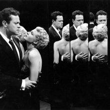 Orson Welle e Rita Hayworth ne La signora di Shangai