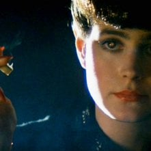 Sean Young in Blade Runner - una scena del film