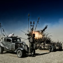 Mad Max: Fury Road, una scena tratta dal film d'avventura fantascientifico