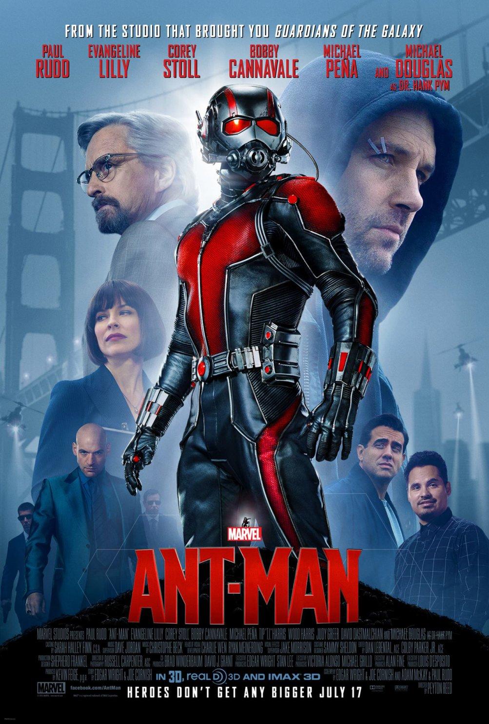 Ant-Man: il poster del film della Marvel