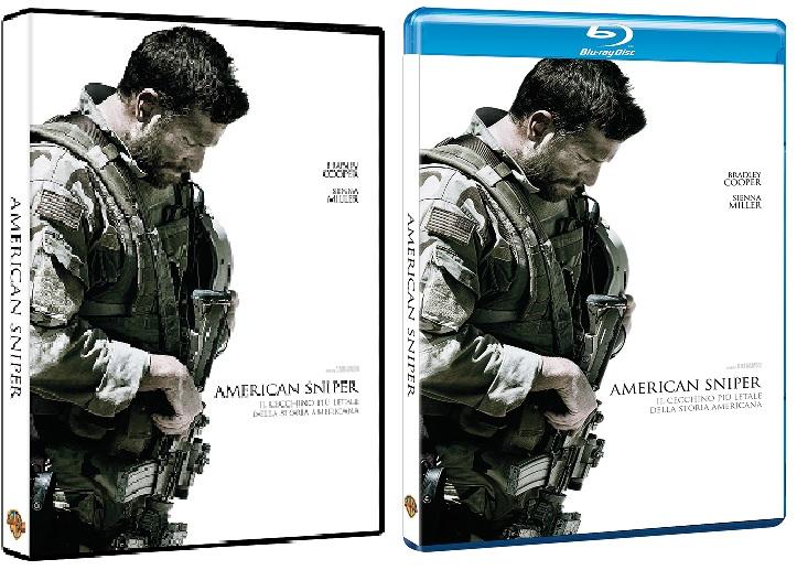 Le cover homevideo di American Sniper
