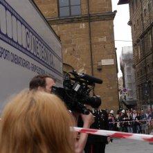 Inferno: uno sguardo al set di Palazzo Vecchio