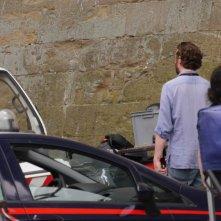 Inferno: Fortunato Cerlino si rilassa prima di un ciak da Palazzo Vecchio