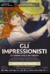 Locandina di Gli Impressionisti - La grande Arte al Cinema