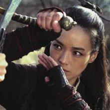The Assassin: Shu Qi in azione durante un combattimento