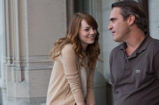 Irrational Man: Emma Stone e Joaquin Phoenix nella prima foto del film diretto da Woody Allen