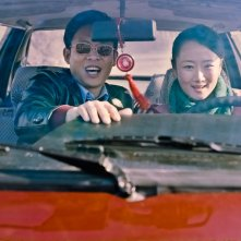 Mountains May Depart: Zhang Yi e Zhao Tao in una scena del film