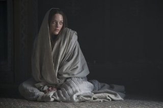 Macbeth: Marion Cotillard è Lady Macbeth in una scena del film
