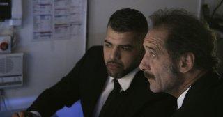 La legge del mercato: Vincent Lindon in azione in una scena del film
