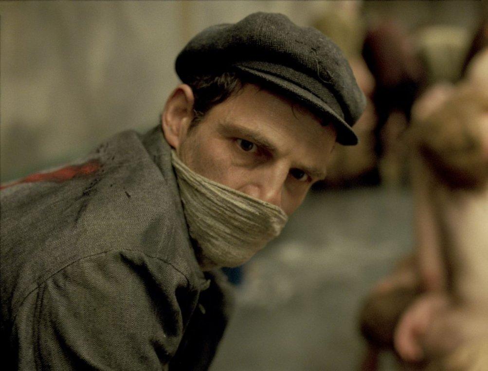 Son of Saul: Géza Röhrig in un'immagine del film