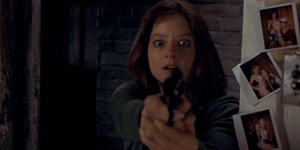 Il silenzio degli innocenti: Jodie Foster in una scena del film