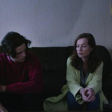 Asphalte: Isabelle Huppert in una scena del film