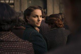 A Tale of Love and Darkness: Natalie Portman in una sequenza del film