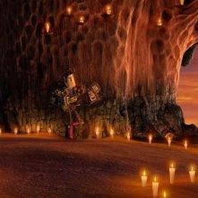 Il Libro della Vita: Manolo in una romantica scena del film