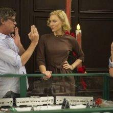 Carol: Cate Blanchett con il regista Todd Haynes sul set del film