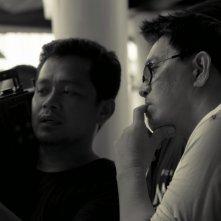 Taklub: Brillante Mendoza sul set del suo film