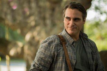 Irrational Man: Joaquin Phoenix in un'immagine del film nel ruolo di Abe