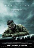 Fury: la locandina italiana del film