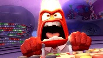 Inside Out: Rabbia in una scena del film