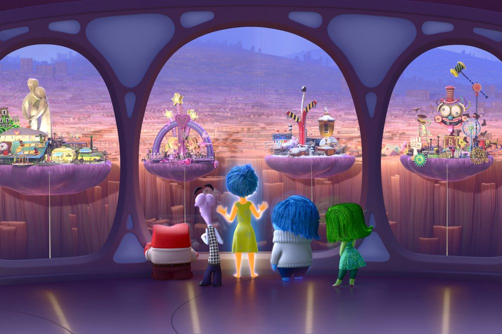 Inside Out: una scena tratta dal film animato