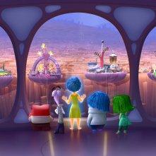 Inside Out: una scena tratta dal film animato