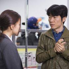 Office: il regista Hong Won-Chan sul set