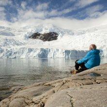 Ice and the Sky: il climatologo e studioso dell'Antartide Claude Lorius in una scena del documentario