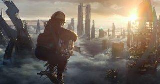 Una scena tratta dal film Tomorrowland - Il mondo di domani