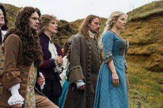 Le Regole del Caos: Kate Winslet con Matthias Schoenaerts e Angus Wright in una scena del film