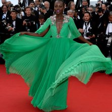 Cannes 2015: la bellissima Lupita Nyong'o sul red carpet