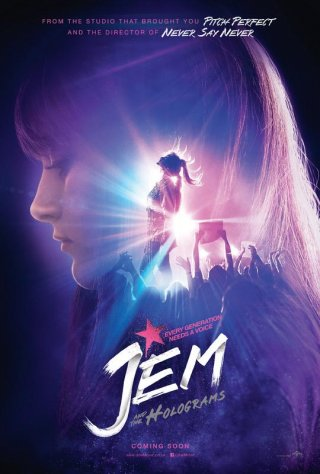 Jem and the Holograns: il poster ufficiale