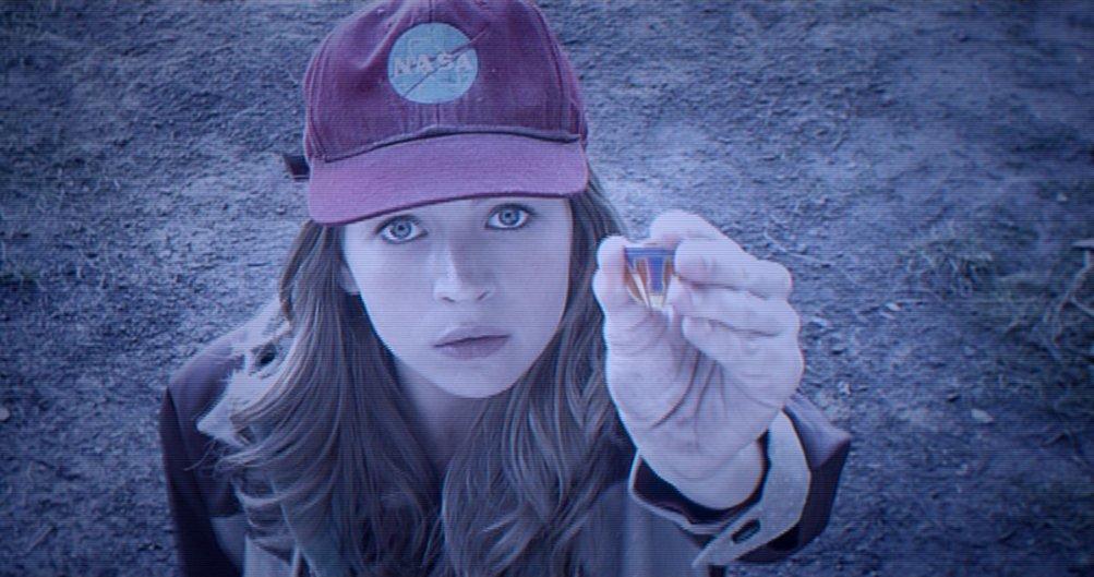 Tomorrowland - Il mondo di domani: Britt Robertson in una scena del film