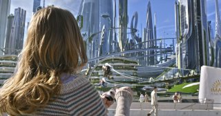 Tomorrowland - Il mondo di domani: una scena del film